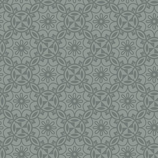 Benartex Home Grown Medallion Gray
