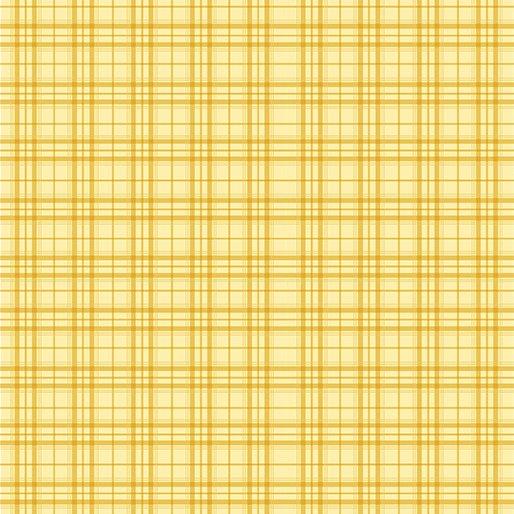 Benartex Home Grown Plaid Yellow
