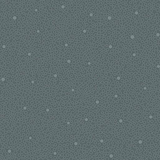 Benartex Home Grown Circle Dot Grey