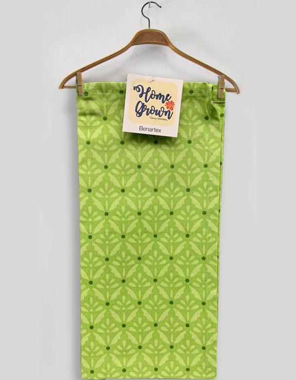 Toweling Benartex Home Grown Flowers Green