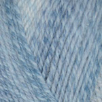 Plymouth Encore Colorspun Worsted Multi Blue Drift 7827