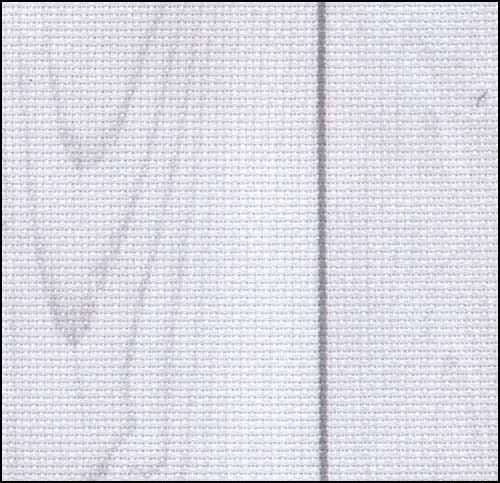 CS Fabric 14ct Aida Whitewashed Board FQ