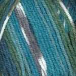 Plymouth Encore Colorspun Worsted Teal Mix 8126