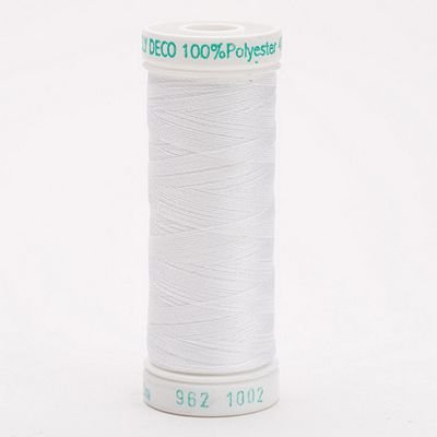Sulky Thread Poly-Deco Embroidery 250yds. White