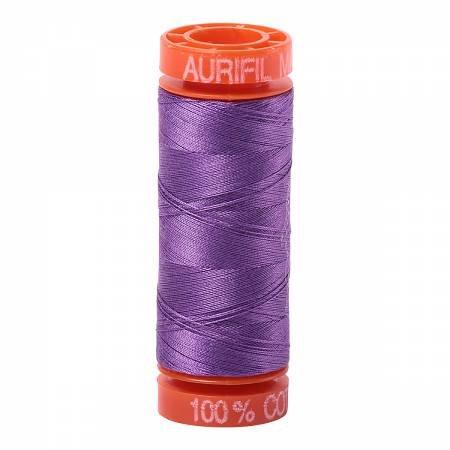 Aurifil Mako Cotton Embroidery Thread 50 wt. 220 yds Purple