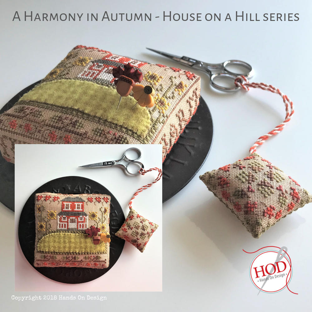 Kit CS Hands on Designs A Harmony in Autumn with Pin Set