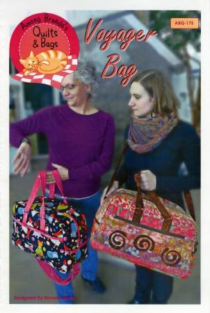 PT S Among Brenda's Quilts Voyager Bag