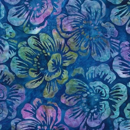 Kaufman Garden Flower Batik
