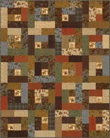 PT Q Antler Quilt Design Fall Impressions
