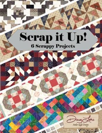 BK Q Antler Quilt Design Scrap it Up!