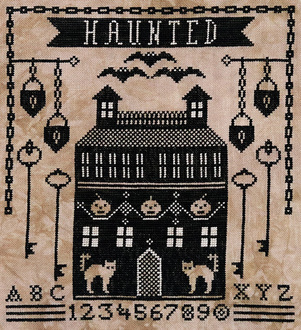 PT CS Artful Offerings Haunted Manor House