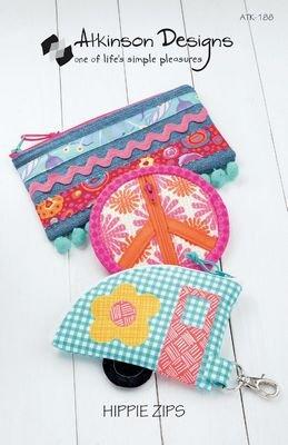 PT S Atkinson Designs Hippie Zips