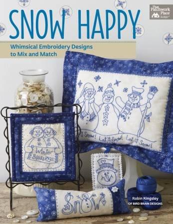 BK E Bird Brain Designs Snow Happy