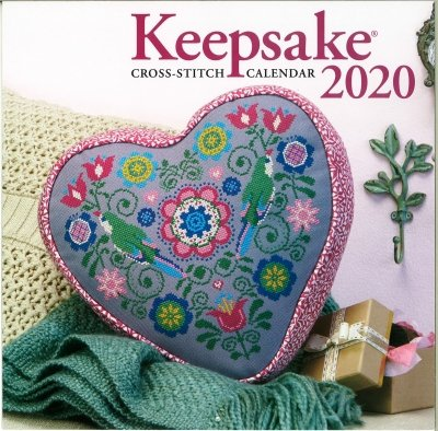 2020 Keepsake Cross Stitch Calendar