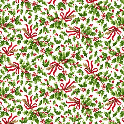 Blank All That Glitters Is Snow Holly Bunch