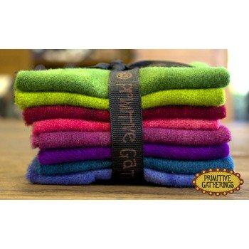 Prim Gatherings Wool Bundle Small Brights #2