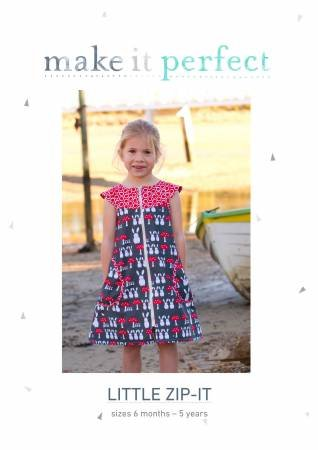 PT S Make It Perfect Little Zip-It Dress