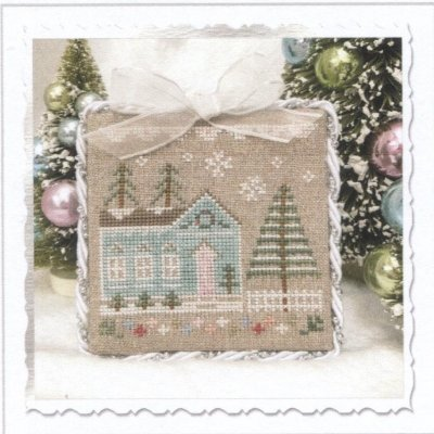 PT CS Country Cottage Needleworks Glitter House 7