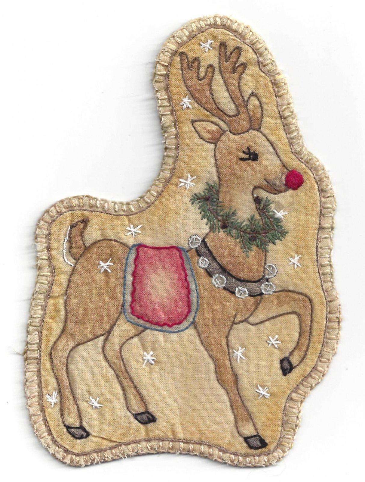 PT E Chickadee Hollow Santa's Reindeer