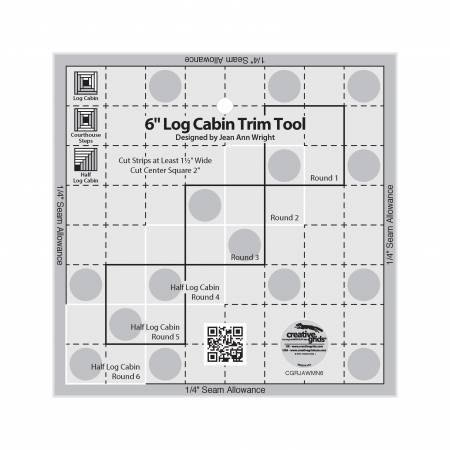 Ruler Creative Grids Itty-Bitty Eights Square XL 15 x 15