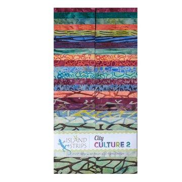 Island Batik City Culture II-Strip Pack