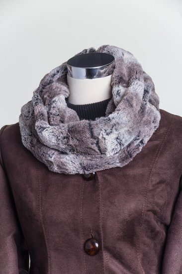 Kit - Shannon Luxe Cuddle Mountain Fox Infinity Scarf