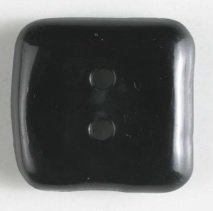 Dill Buttons Small Square Black