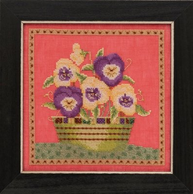CS Kit Mill Hill Debbie Mumm Blooms and Blossoms Pansies