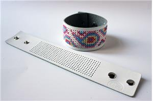 DMC Stitchable Cuff - White