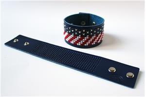 DMC Stitchable Cuff - Blue