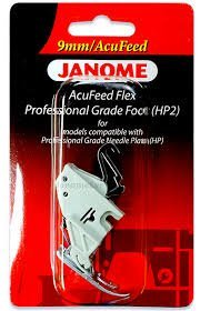 Foot Janome Accufeed HP2 9mm