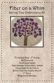 Kit HE Fiber on a Whim Spring Tree