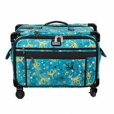 Tutto Bag On Wheels Daisy Turquoise 1X