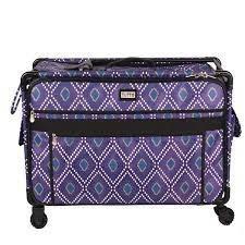 Tutto Bag On Wheels Modern Monster Purple 2X