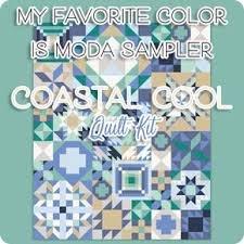 Kit Q My Favorite Color is Moda Coastal Cool 3