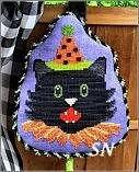 PT CS Pepperberry Designs Fancy Black Cat