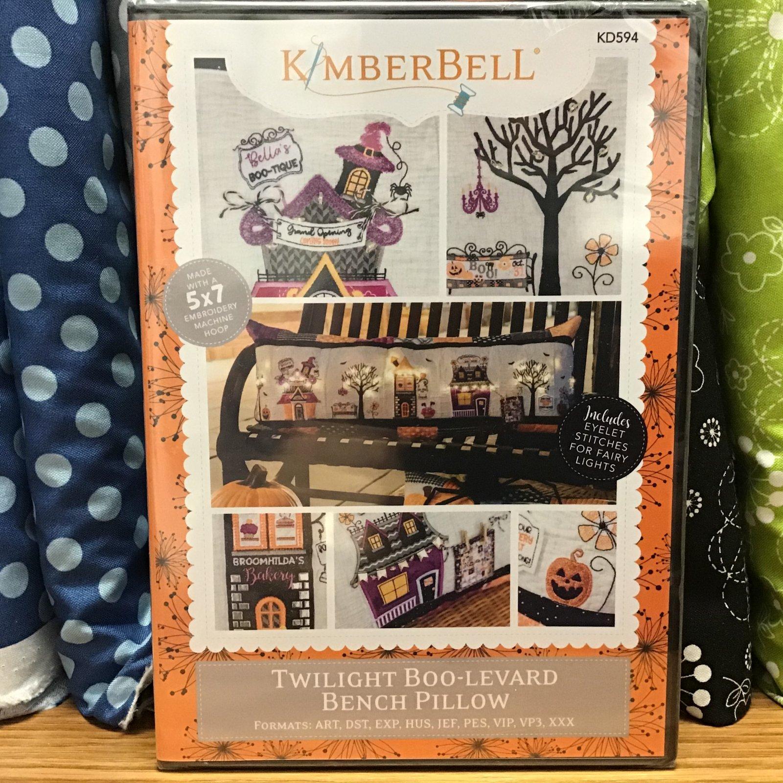 Kimberbell ME CD Bench Buddy Twilight Boo-levard