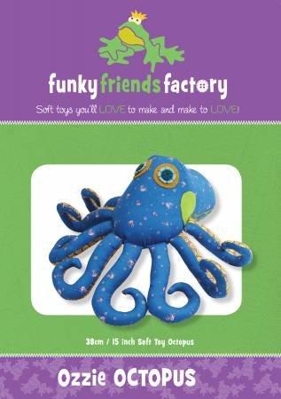 PT S Funky Friends Factory Ozzie Octopus