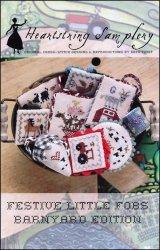 PT CS Heartstring Samplery Festive Little Fobs Barnyard Edition