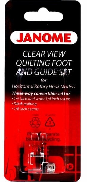 Foot Janome CV Quilting and Guide Set