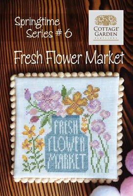 PT CS Cottage Garden Springtime Series Fresh Flower Market