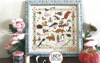 PT CS Lindy Stitches Funky Menagerie