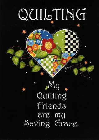 Quilting Friends Greeting Card GC08