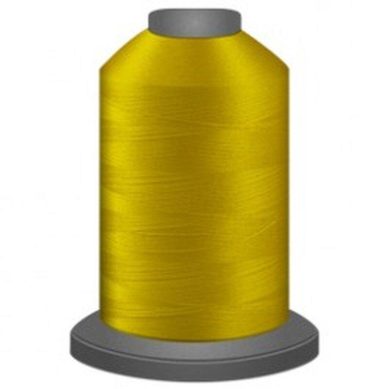 Glide 40 wt 2 Ply Long Arm Thread 5500 Yards Bright Yellow 80108