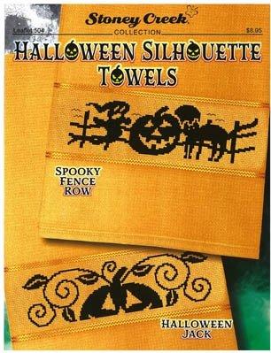 PT CS Stoney Creek Halloween Silhouette Towels