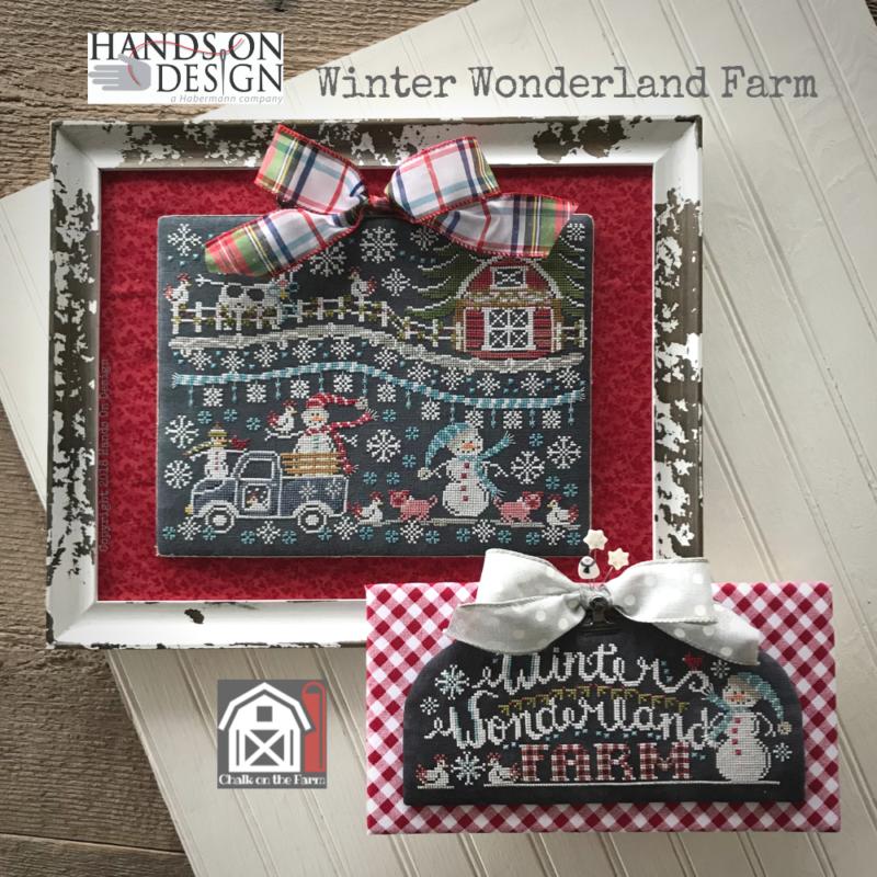 PT CS Hands On Design Winter Wonderland Farm