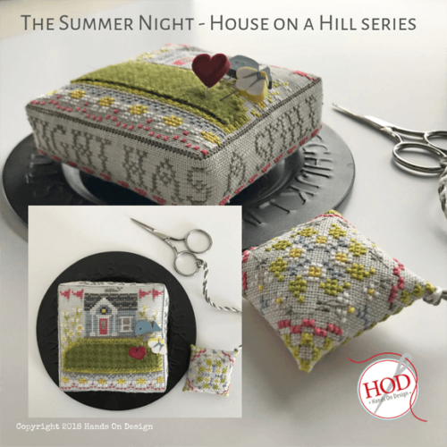 PT CS Hands On Design The Summer Night Pincushion