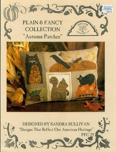 PT CS Homespun Elegance Autumn Patches with Pillow