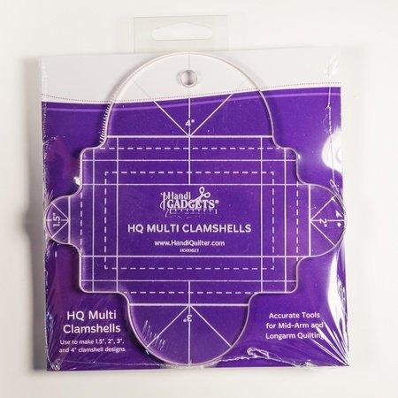 Handi Quilter Ruler Multi Clamshell