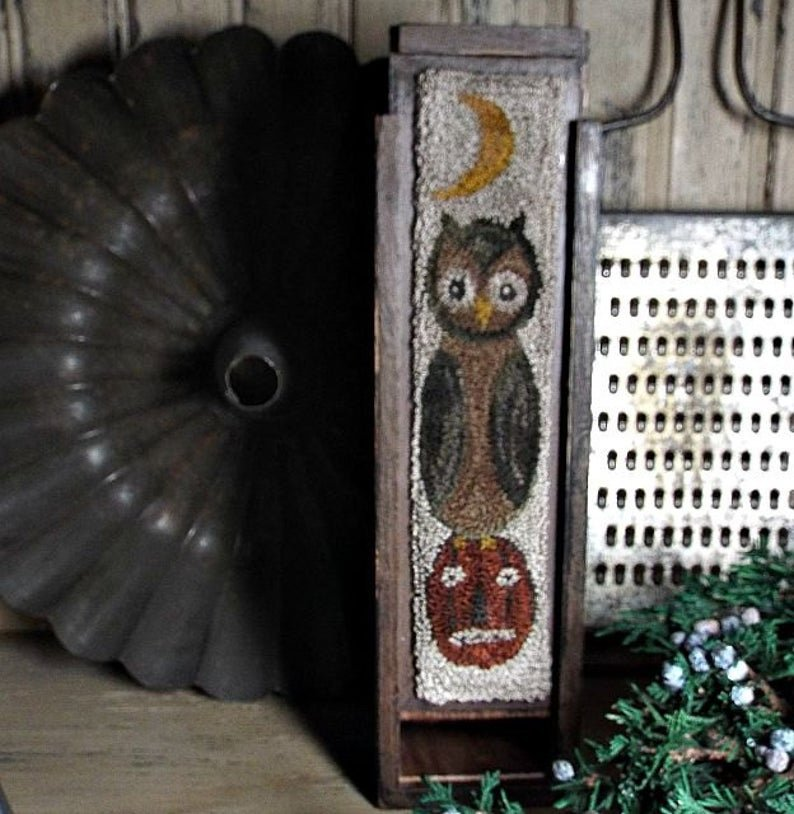 PT PN Teresa's Primitive Treasures Hoot & Jack